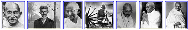 Mahatma Mohandas Karamchand Gandhi - India's Father of the Nation