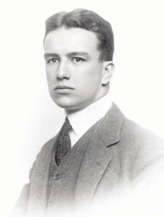 Photo of young Richard Buckminster Fuller