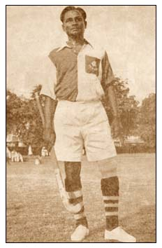 1936 Berlin Olympics Indian hockey captain Major Dhyan Chand