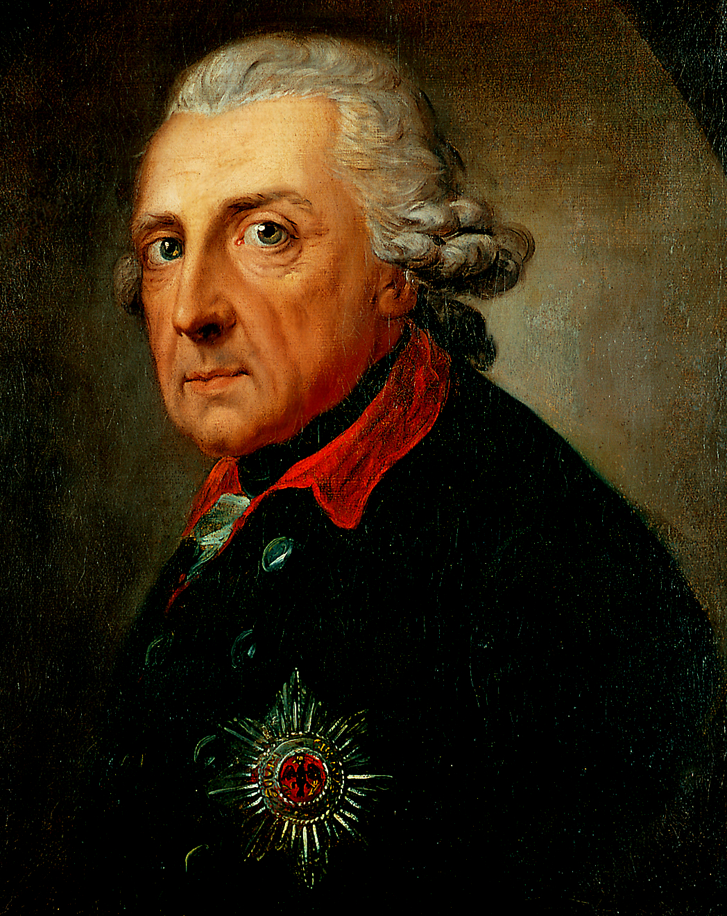 Frederick II (the Great), King of Prussia, aged 68