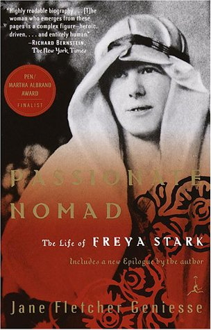 Cover of Jane Fletcher Geniesse's biography of Freya Stark