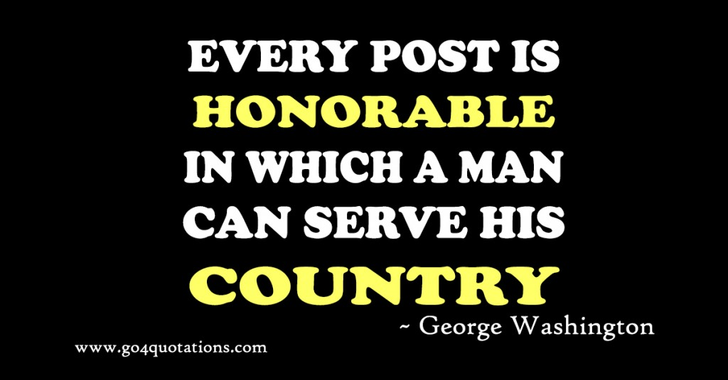 George Washington Quotes | Motivational and Leadership Quotes