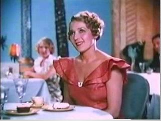 Pickford in the 1934 short subject Star Night at the Cocoanut Grove, her only film appearance in Technicolor