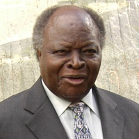 Kenyan President Mwai Kibaki at the 8th EAC su...