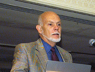 English: Nobel laureate Richard Smalley (Rice ...