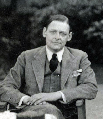 Thomas Stearns ('T.S.') Eliot
